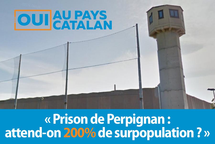 surpopulation a la prison de perpignan parution dans le journal catalan oui au pays catalan. Black Bedroom Furniture Sets. Home Design Ideas